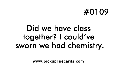 Did we have class together i couldve sworn we had chemistry 0109 did we have class chemistry urtaz Choice Image