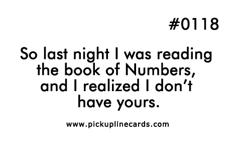 Funniest dirty pickup lines