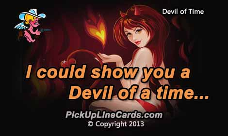 devil-time-pick-up-line-for-girls